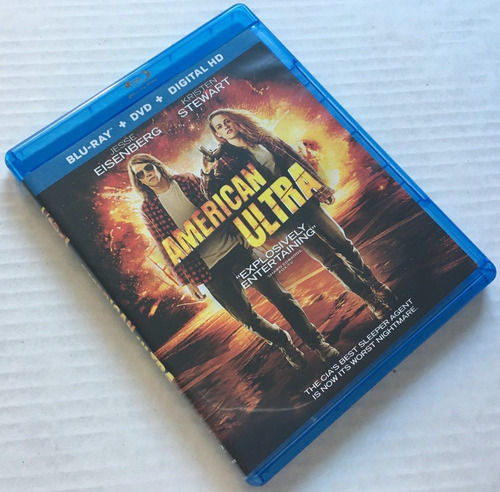 blu-ray  lionsgate films: american ultra - operación ultra