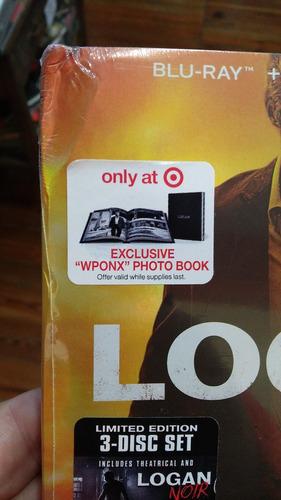 blu ray logan digibook dvd target wolverine x men noir editi