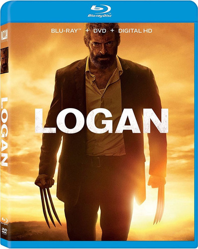 blu-ray logan / incluye logan noir / 3 discos / bluray + dvd