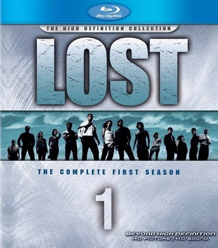 blu ray - lost - 1° temporada completa