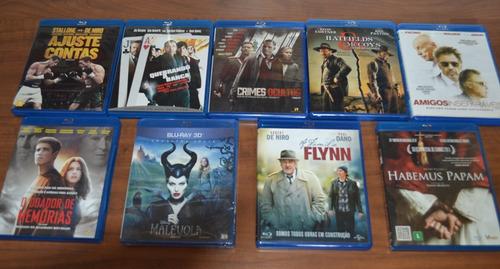 blu-ray  lote com 13 filmes - originais - frete grátis