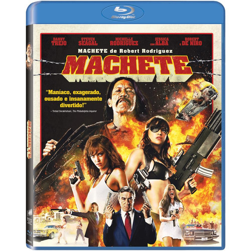 blu-ray - machete