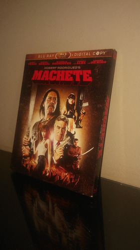 blu ray machete (con cover) -