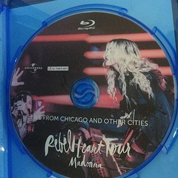 Rebel Heart Tour Dvd Cover