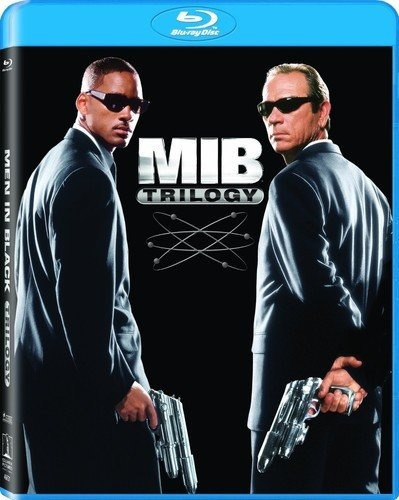 blu-ray :   - men in black / men in black 2 / men in bla...