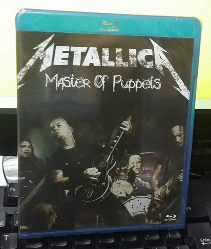 blu-ray metallica master of puppets