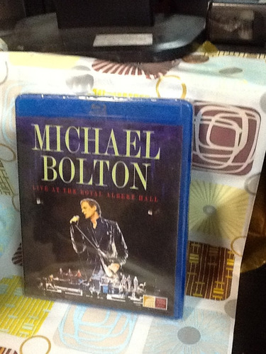 blu-ray michael bolton live at the royal albert hall