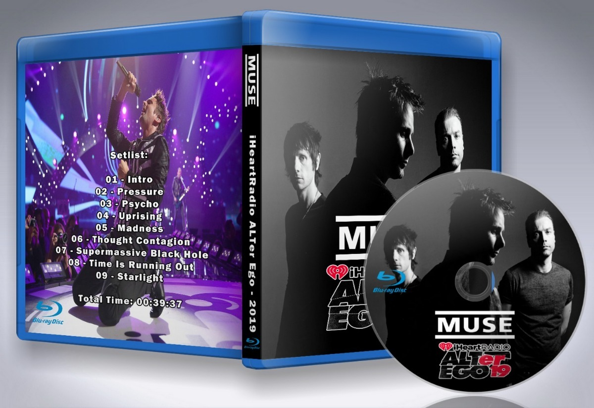 Blu-ray Muse - Iheartradio Alter Ego 2019
