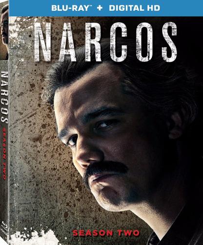 blu-ray narcos season 2 / temporada 2