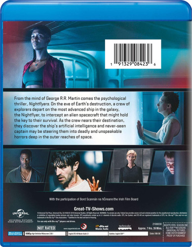 blu-ray : nightflyers: season one (2 pack)