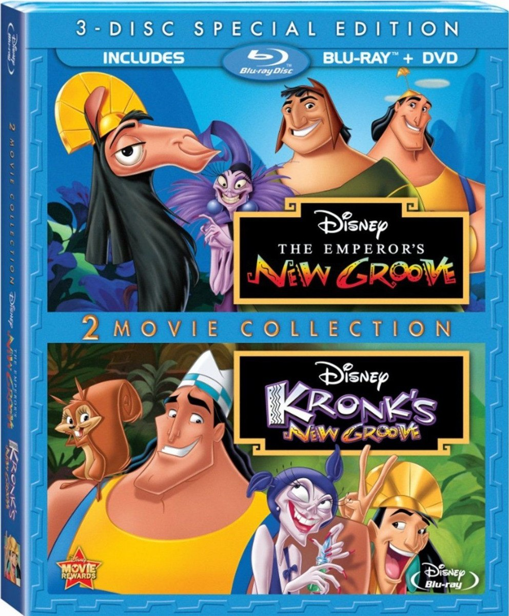 Blu Ray Nova Onda Do Imperador 1 2 Dublado R 29 00 Em Mercado