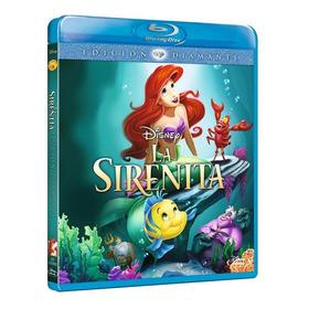 Blu Ray Nuevo Original La Sirenita Edición Diamante