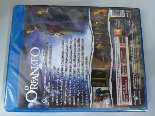 blu ray o orfanato - guillermo del toro - original lacrado