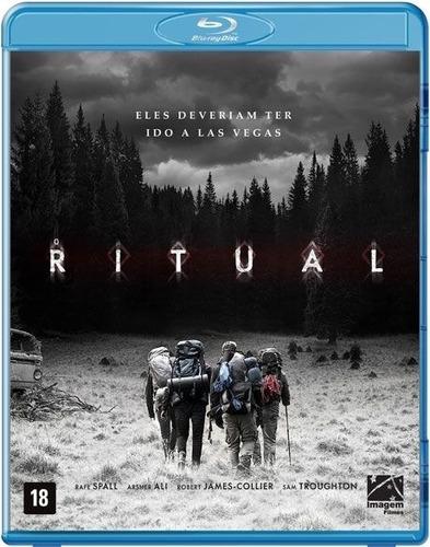 blu-ray o ritual - original lacrado raro