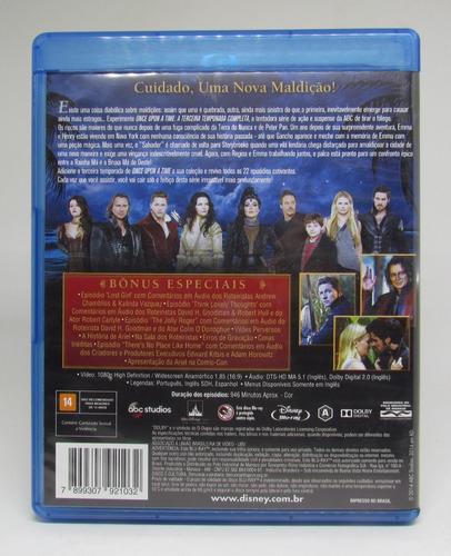 blu ray once upon a time 3a temporada 5 discos original
