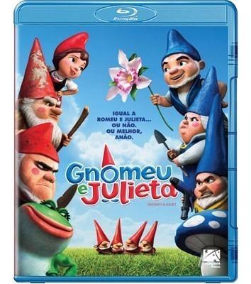 blu-ray original do filme gnomeu & julieta