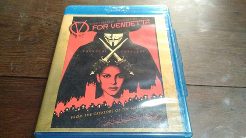 blu ray original, v for vendetta   v de venganza