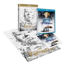 Blu-ray Os Pássaros - Hitchcock - 50th Anniversary (lacrado)