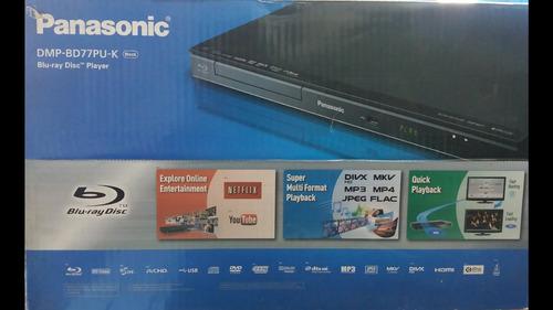 blu-ray panasonic nuevo wifi cable hdmi tienda física