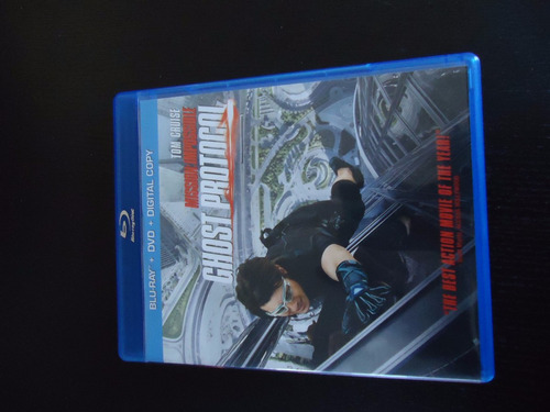 blu ray paramount : mission impossible - ghost protocol.