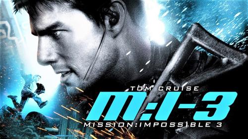 blu-ray  paramout:    misión imposible 3