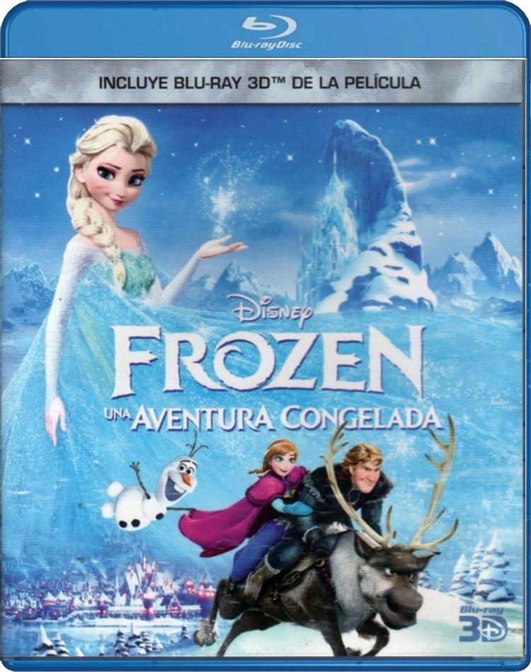 Frozen Una Aventura Congelada Blu Ray Disco Fisico Pelicula - $ 199 ...