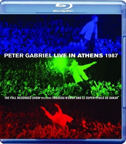 blu - ray - peter gabriel - live in athens
