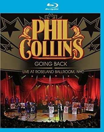 blu ray phil collins going back live at roseland ballroom