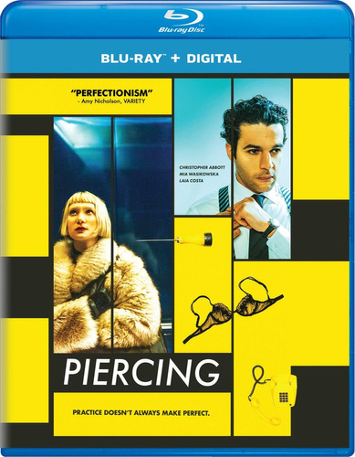 blu-ray : piercing (digital copy)