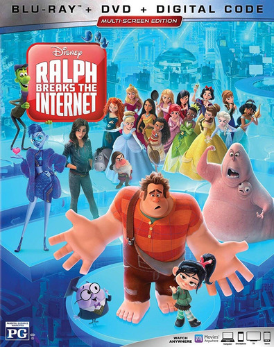 blu ray ralph breaks the internet dvd estreno original