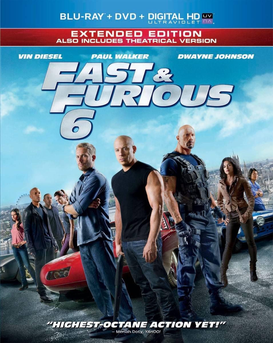 Rápido y Furioso 6 1080p HD Latino Dual
