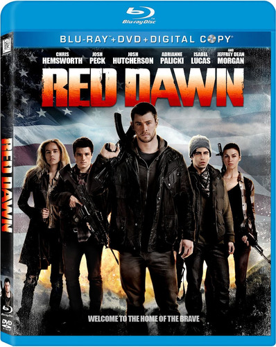 blu-ray :   - red dawn (with dvd, , ac-3, digital theater...