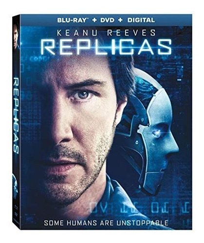 blu-ray : replicas (with dvd, 2 pack, widescreen, digital...