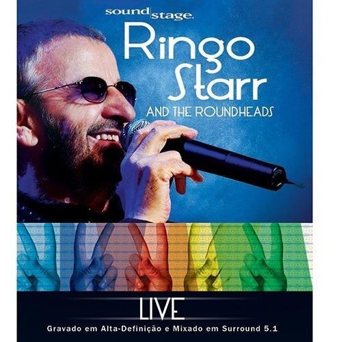 blu-ray ringo starr ( beatles )  live at soundstage -lacrado