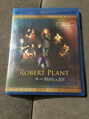 blu ray robert plant & the band of joy orig impecável $ 49,