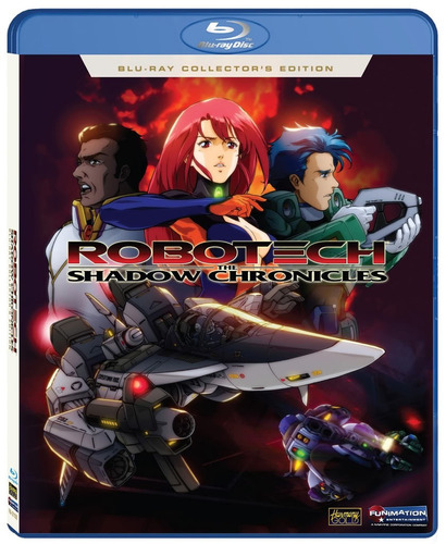 blu ray robotech las cronicas de la sombra shadow chronicles