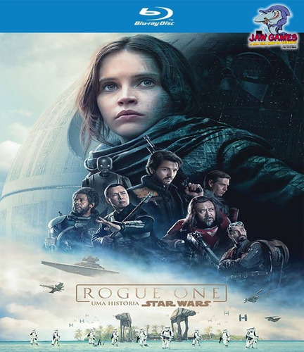 blu-ray - rogue one: uma história star wars - lacrado