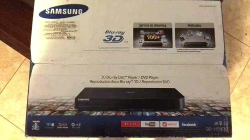 blu-ray samsung bd-h5500 3d nuevo netflix youtube facebook