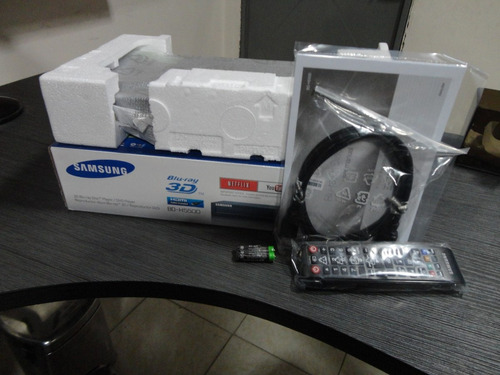 blu-ray samsung bd-h5500 nuevo 3d netflix incluye cable hdmi