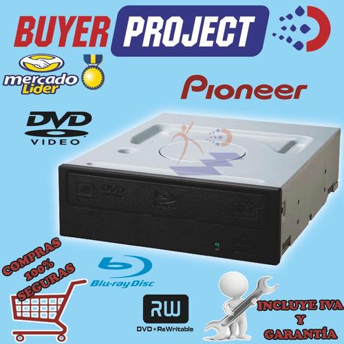blu ray sata quemador pioneer dvd-writer doble capa 3d 16x