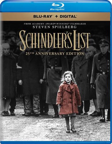 blu-ray : schindler's list (25th anniversary edition)...