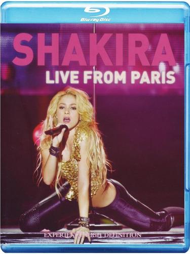 blu-ray shakira live from paris 2011