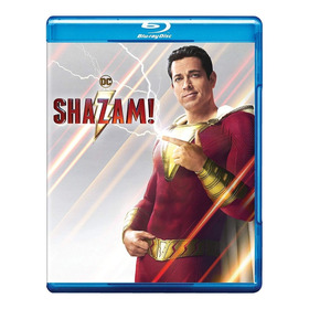 Blu Ray Shazam Original Dvd Dc Marvel Comic