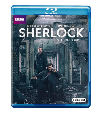 blu-ray :   - sherlock: season four (amaray case, 2 disc)