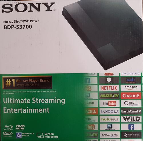 blu ray sony con wifi smart bdp-s3700 con wifi
