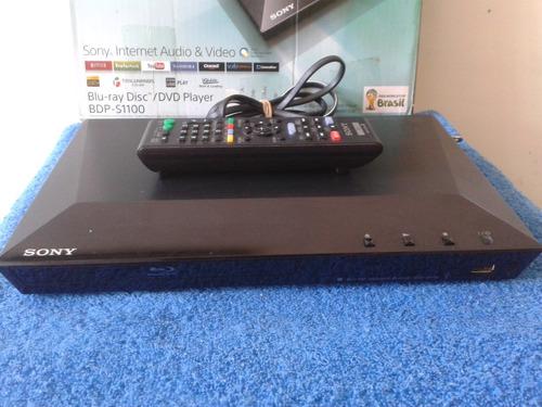 blu-ray sony disc/dvd player bdp-s1100