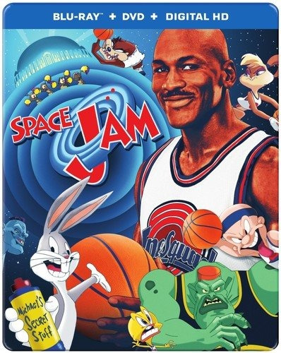 blu-ray :   - space jam (20th anniversary) (with dvd,...