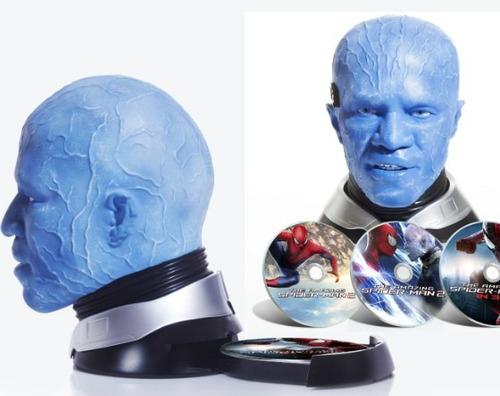 blu ray spiderman 2 en 3d - 2d - edición colección - stock
