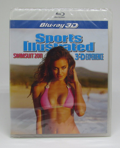 blu ray sports illustrated swimsuit 2011 - 3d