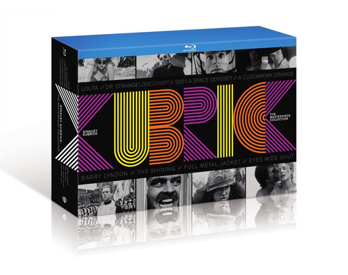 blu-ray stanley kubrick: the masterpiece collection